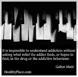 Gabor Mate Relief an addict finds