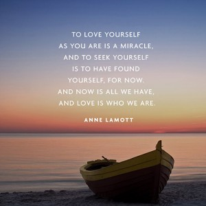 Love yourself Anne Lamott